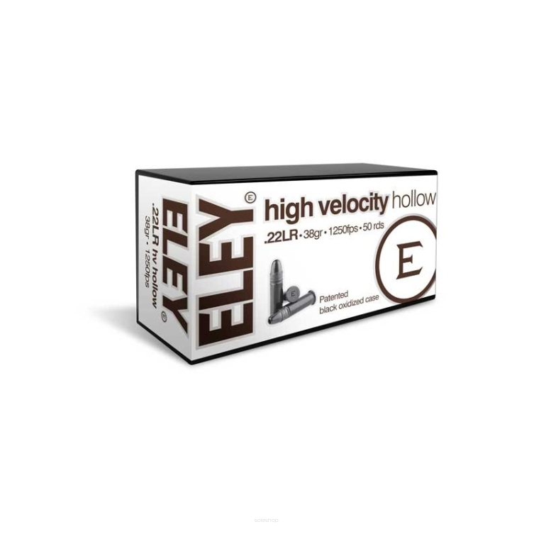 Amunicja ELEY HV Hollow Point .22LR