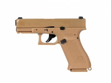 Pistolet WIATRÓWKA Glock 19X BlowBack 4,5mm Coyote