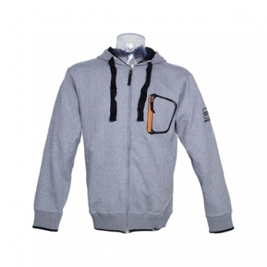 BLUZA GLOCK PERFECTION UNISEX GREY XL